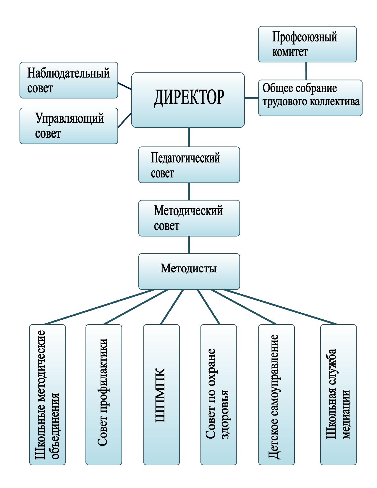 Структура и органы управления школы